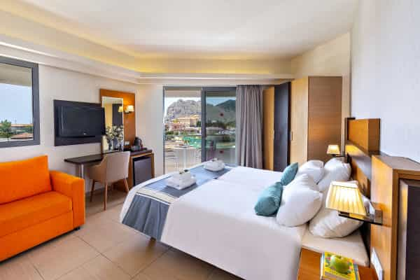 Leonardo Kolymbia Resort - Rhodes - Twin Room with Pool and Sea View