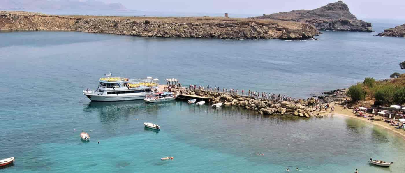 Leonardo Mediterranean Hotels & Resorts - Boot-Trip zur Lindos Ortschaft